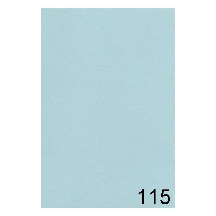 Фон студийный бумажный 1,35 х 11м BD 115 Светло голубой ( Misti Blue )