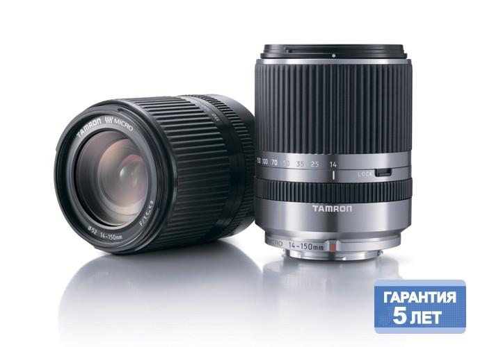 Tamron 14-150mm F/3,5-5,8Di III для Panasonic (silver)