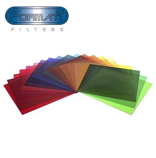 Набор цветных гелевых фильтров Formatt 20x20см 21шт.
