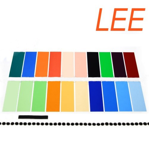 Набор цветных гелей LEE ( Flash Gel Filter ) 20х