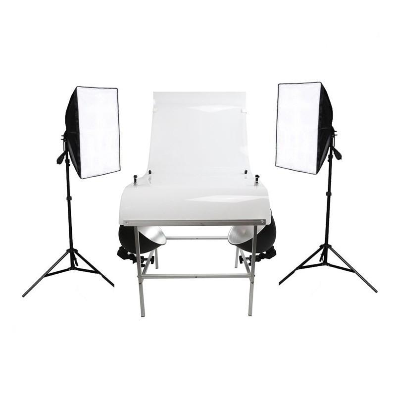 Набор студийного света для предметной съемки SL-4 Grand Macro Kit