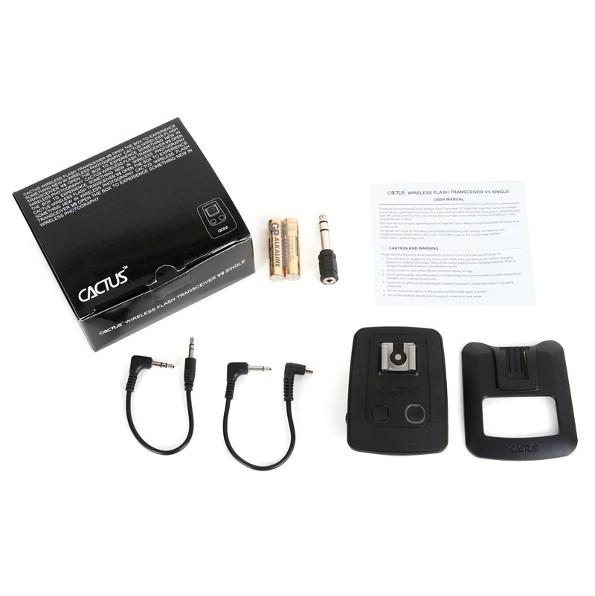 Радиосинхронизатор Cactus Wireless Flash Transceiver V5 Single Kit