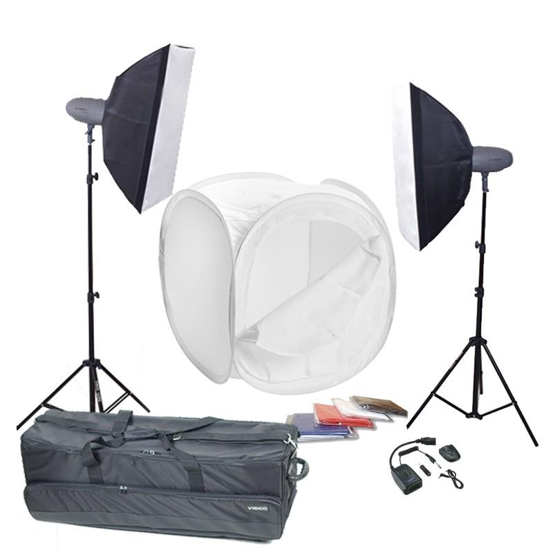 Набор для предметной съемки Visico VT-300 LightBox Macro kit