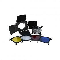 Комплект шторки, соты, фильтры Falcon Eyes BD-100