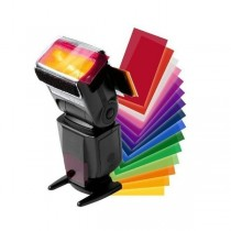 Набор цветных гелевых фильтров SL 4,5x7,5см