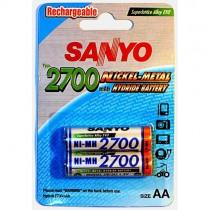 Аккумулятор Sanyo Ni-MH AA 2700mAh HR-3U (2шт)