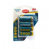 Аккумулятор Hahnel Ni-MH AA 2800mAh B4 (4шт)