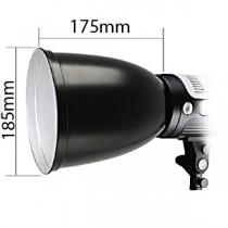 Menik рефлектор d185мм  l175мм (for Bowens)