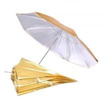 "Зонт Falcon Eyes 2в1 gold/silver 122см (48"") URN-48GS"