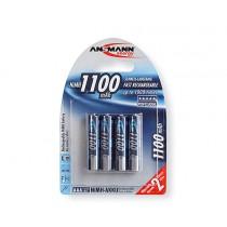 Аккумулятор Ansmann Ni-MH AA 1100mAh (4шт)
