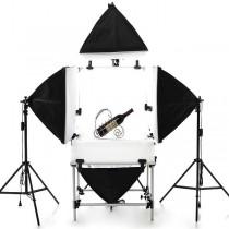 Набор студийного света для предметной съемки SL-7 Quatro Macro kit