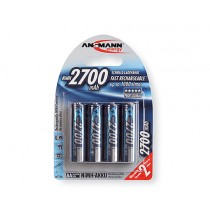Аккумулятор Ansmann Ni-MH AA 2700mAh (4шт)