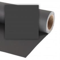 Фон бумажный 2,72x11м Colorama 68 Black Черный