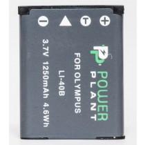 Aккумулятор PowerPlant Olympus Li-40B, Li-42B, D-Li63, D-Li108, NP-45, NP-80, NP-82, EN-EL10, KLIC-
