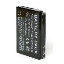 EXTRA DIGITAL KLIC-5001, DB-L50 для Kodak (аналог KODAK KLIC-5001, SANYO DB-L50, DB-L50AU)