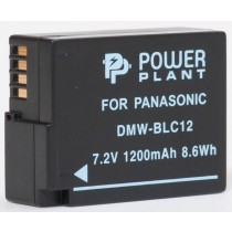 Aккумулятор PowerPlant Panasonic DMW-BLC12, DMW-GH2