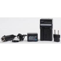 Aккумулятор c зарядным устройством PowerPlant Canon BP-727
