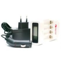 Зарядное устройство ExtraDigital Smart Super Rapid LCD