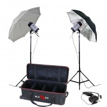 Blazzeo Swift 500 kit w/2 umbrella