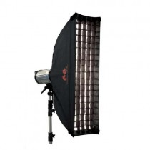 Softbox strip w/grid Falcon Eyes 30x160см SQ
