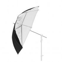 Зонт Lastolite Dual Silver/Black/White 100см
