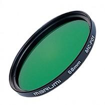 Зеленый светофильтр Marumi PO1 49мм для черно-белой фотографии.