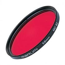 Красный светофильтр Marumi R2 49мм для черно-белой фотографии.