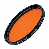 Оранжевый светофильтр Marumi YA2 49мм для черно-белой фотографии.