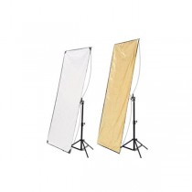 Hyundae Photonics отражатель 2в1 Whiter/Soft Gold 80х120см