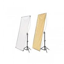Hyundae Photonics отражатель 2в1 Whiter/Soft Gold 100x180см