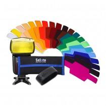Набор цветных гелевых фильтров Selens SE-CG20.