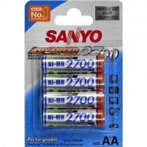 Аккумулятор Sanyo Ni-MH AA 2700mAh HR-3U (4шт)