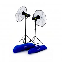 Комплект студийного света Lastolite Lumen8 Kit F400 Umbrella