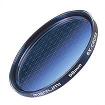Лучевой ( звездный ) светофильтр Marumi 6X-Cross 58мм