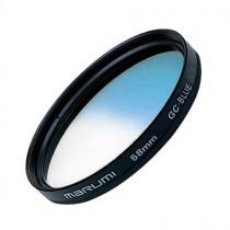 Градиентный голубой светофильтр Marumi GC-Blue 72мм