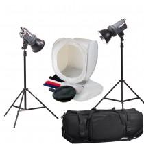 Набор студийного света для предметной съемки Menik SM-250 macro kit