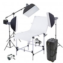 Набор для предметной съемки Mircopro MQ-200 Master Macro kit