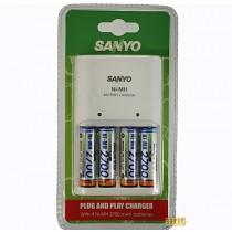 Зарядное устройство Sanyo MQN04-E-4-2700