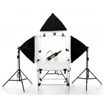 Набор студийного света для предметной съемки SL-5 Triple Macro kit