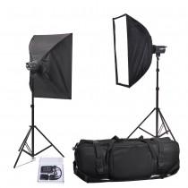 Набор студийного света Menik SM-250/250 double soft
