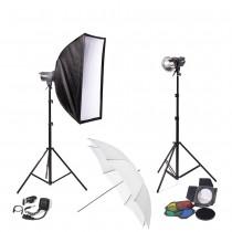 Набор студийного света Menik SM-250x2 Home Studio