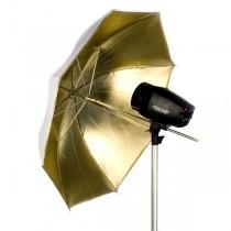 "Зонт Falcon Eyes 2в1 gold/white 122см (48"") URN-48GW"
