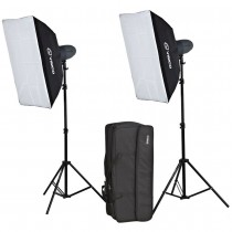 Набор студийного света Visico VL-300 Plus Softbox Kit