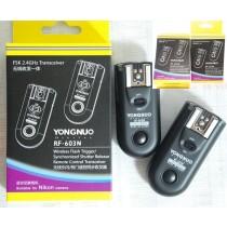 Набор радиосинхронизаторов Yongnuo RF-603N2 для Nikon