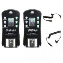 Набор радиосинхронизаторов Yongnuo RF-605C для Canon