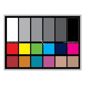 """Цветная карта Digital Image Flow - Digital Kolor Kard 5x7"""""""