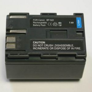 Aккумулятор PowerPlant Canon BP-522