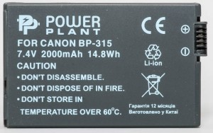 Aккумулятор PowerPlant Canon BP-315