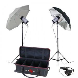Blazzeo Swift 500 kit w/2 umbrella