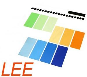 Набор цветных гелей LEE ( Flash Gel Filter ) 10х
